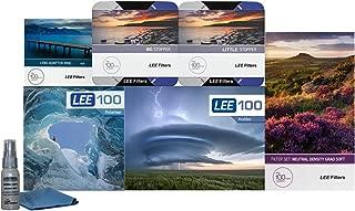 LEE Filters LEE100 77mm Special Edition Landscape Pro Kit- LEE100 Filter Holder, LEE 100mm Soft Edge Grad ND Filter Set, LEE 100mm Big and Little Stopper, LEE100 CPL and 77mm Wide Angle Ring