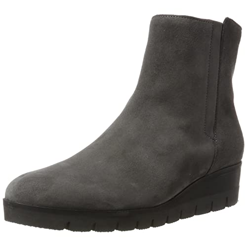 774a06cf803fc Grey Leather Wedge Ankle Boots: Amazon.co.uk