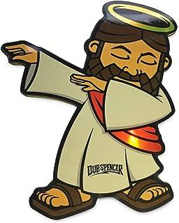 Jesus Dabbing Hologramm Sticker   Dub