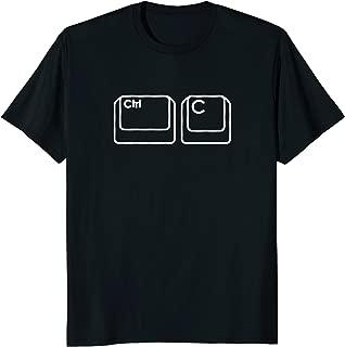 Nerd Dad Ctrl C Copy Paste Matching T-Shirt Shirt