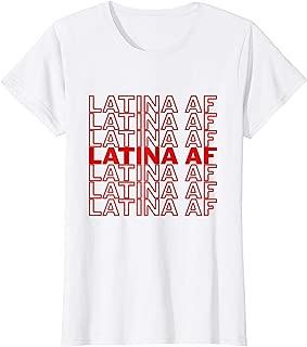 Best latina af shirt Reviews