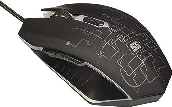 Vorago MO-501 Mouse Start The Game, Óptico Iluminado hasta 3200 Dpi's USB, Color Negro