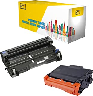 New York Toner New Compatible 2 Pack High Yield Toner & Drum for Brother DR520 TN580 - MFC Multifunction Printers:MFC-8460N | MFC-8470DN | MFC-8660DN | MFC-8670DN | MFC-8860DN .-Black