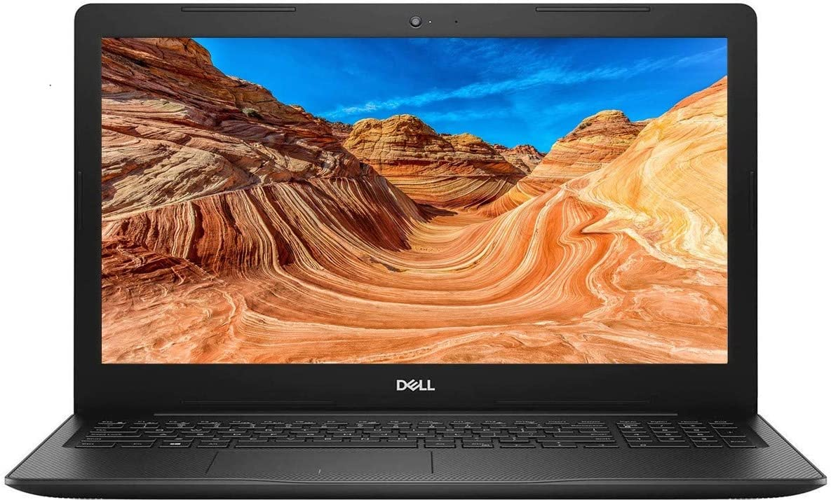 2021 Newest Dell Inspiron 3000 Laptop, 15.6 HD LED-Backlit Display, Intel Pentium Gold 5405U Processor, 12GB RAM, 128GB PCIe SSD + 1TB HDD, Online Meeting Ready, Webcam, WiFi, HDMI, Win10 Home, Black