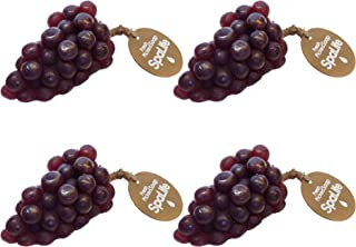 SpaLife Fresh Picked Fruit Soap 4 Pack (Purple Grapes)