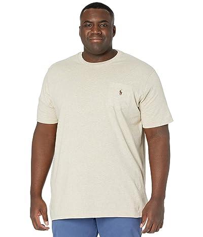 Polo Ralph Lauren Big & Tall Big Tall 26/1 Jersey Short Sleeve Classic Fit T-Shirt (Expedition Dune Heather/C8888) Men