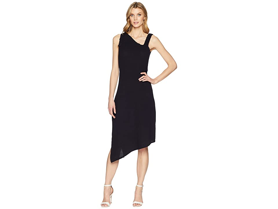 NIC+ZOE Crepe Ottoman Dress (Midnight) Women