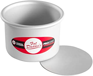 Fat Daddio's Round Cheesecake Pan, 4 x 3 Inch, Silver