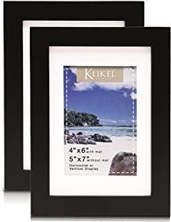 4x6 matted frame