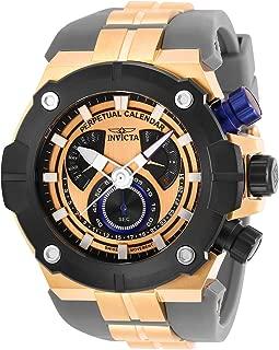 Invicta Men's Sea Hunter Stainless Steel Quartz Watch with Silicone Strap, Grey, 31 (Model: 29955)