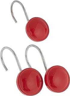 Best red shower hooks Reviews