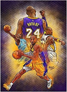 JINHAN NBA Fans Collection Jigsaw Puzzle - NO .24 Wooden 300/520/1000 for Adult Kids - Every Piece is Unique, Pieces Fit T...