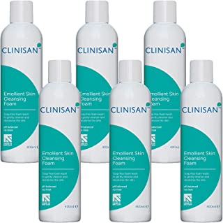 6 Pack - Clinisan 400ml Emollient Skin Cleansing