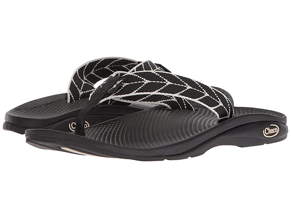 Chaco Flip EcoTreadtm (Vendure Black) Women