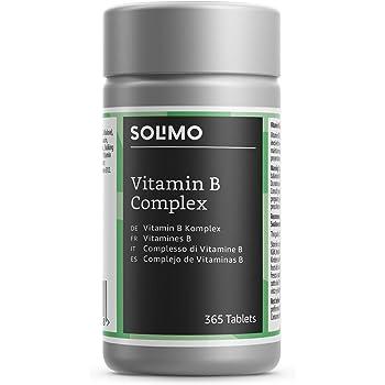 Marchio Amazon- Solimo Integratore alimentare del complesso di vitamine B, 365 compresse