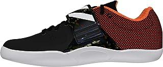 adidas Men's Adizero Discus/Hammer Track & Field Shoes, Black (Cblack/Zeromt/Orange Cblack/Zeromt/Orange), 7.5 UK