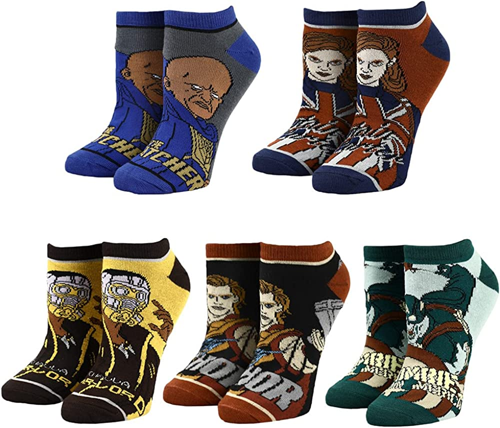 Marvel's WHAT IF? 5 Pair Ankle Sock Pack