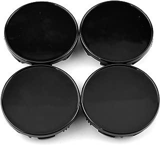 85mm(3.34in)/78mm(3.07in) Black Car Wheel Center Hub Caps Set of 4 for Titan(2004-2012) Armada(2004-2012) #40342-7S500