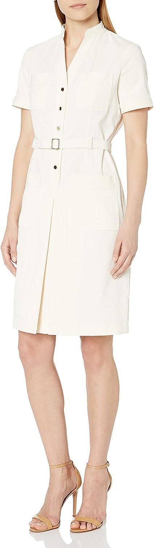 Anne Klein Women's Pocket Shirt Dress