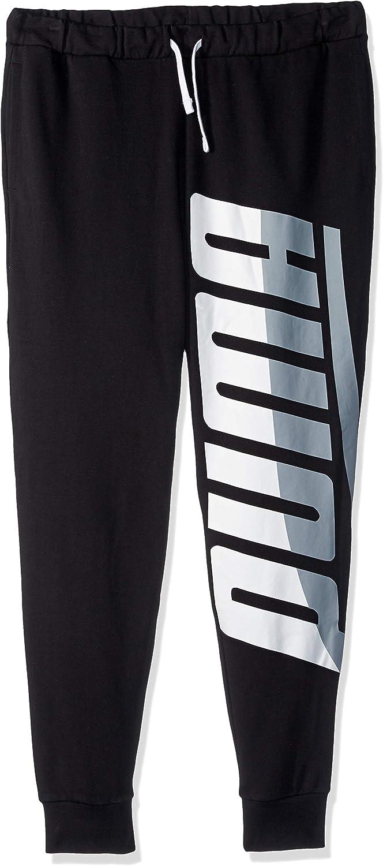 PUMA Men's Loud Pack Pants, Cotton Black, S