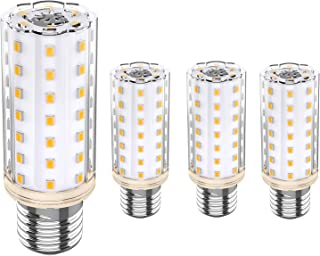 Bombilla LED E27 10W Equivalente 80W 100W Lámpara Halógena, Luz Blanca Cálida 3000K, Sin Parpadeo, AC 220V-240V, Ángulo 360, No Regulable, 4 unidades [Clase de eficiencia energética A+++]