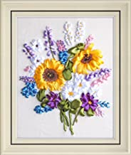 Handmade Ribbon Embroidery