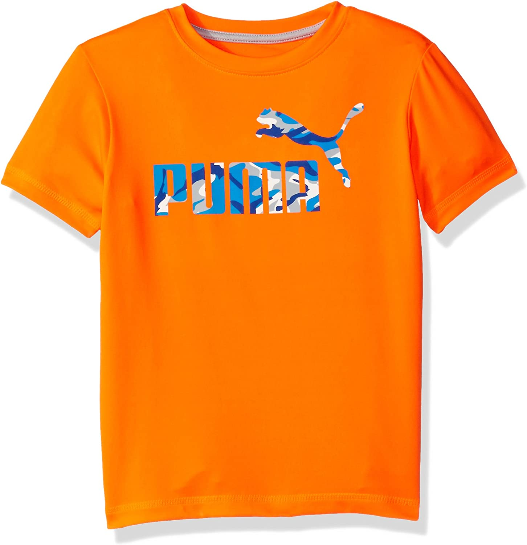 PUMA Boys' No. 1 Logo T-Shirt