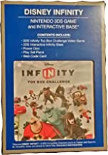Disney Infinity Toy Box Challenge Nintendo 3DS Game & Interactive Base (Characters Sold Separately)