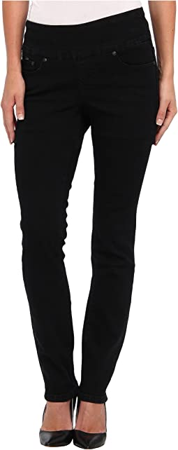 Jag Jeans Malia Pull-On Slim in Black Void