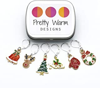 Large Christmas Crochet Stitch Markers