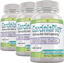 2+1 Fat Burner, Appetite Control, Metabolism Boost Weight Loss Formula, 180 Caps Pure Garcinia Cambogia Extract HCA, 1500 ...