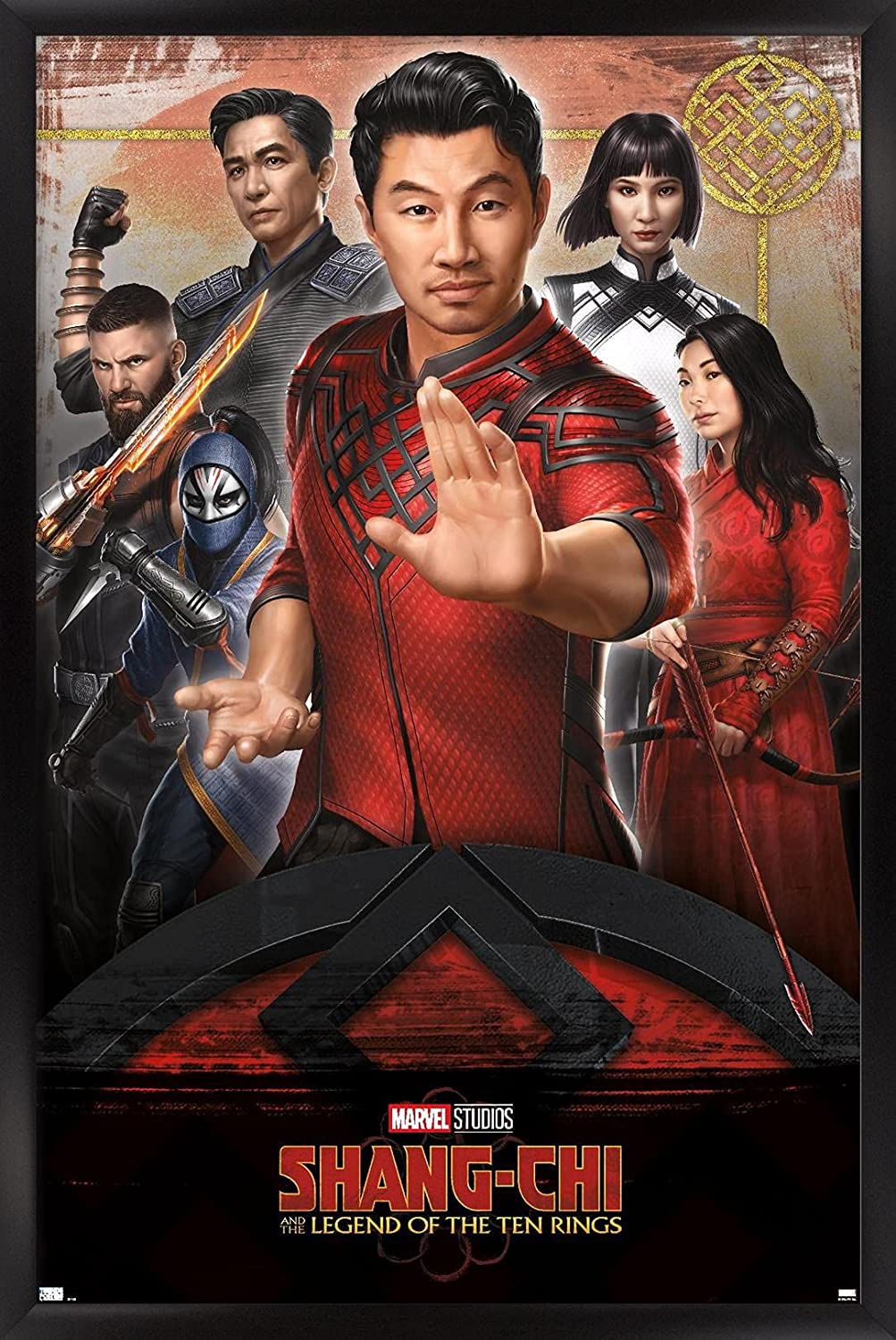Max 84% OFF Trends International Marvel Shang-Chi and The of Product Ten Legend
