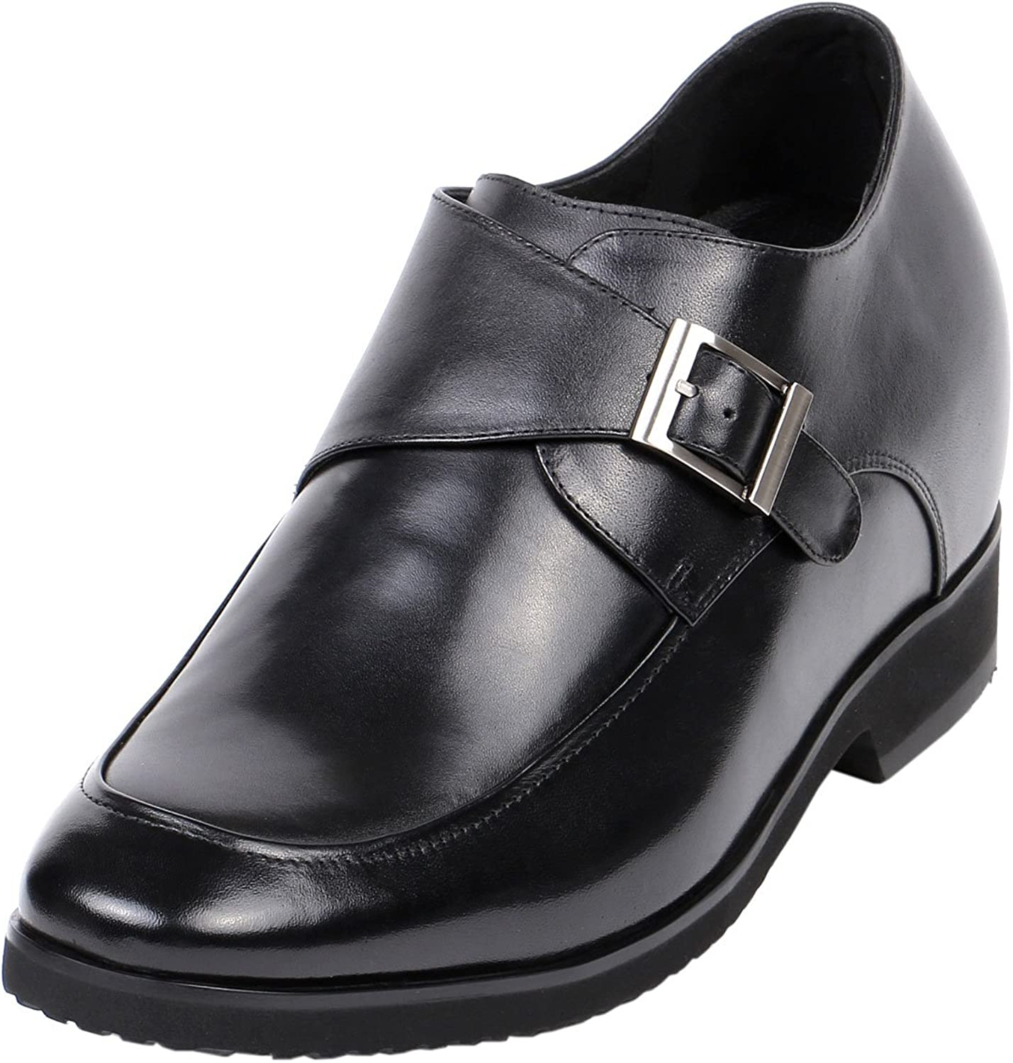 4  Height Gain shoes to Extend Short Men Buckle Fashion GKD83