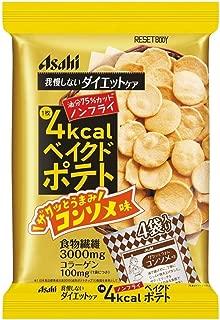 Asahi Reset Body Diet Care Bake Potato Chips Consomme Flavor 66 g x 3 Packs (Japan Import)