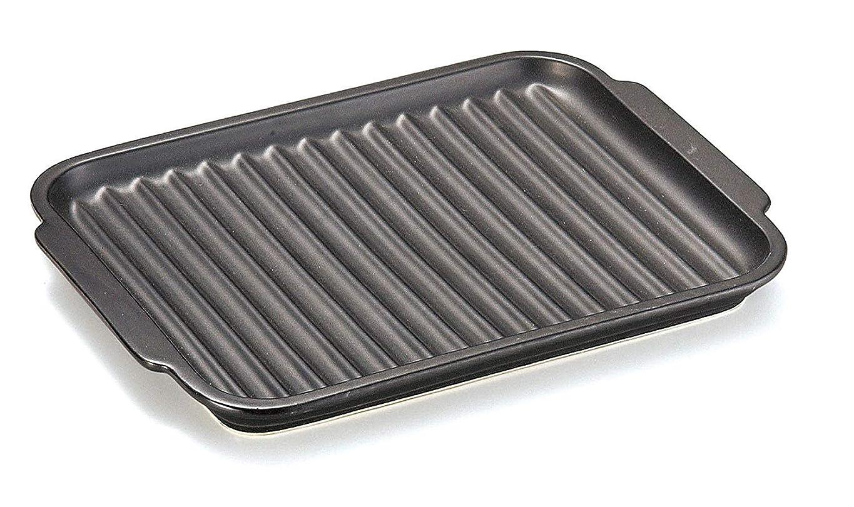 砂利眠り羊飼い耐熱セラミックプレート 魚焼き グリルパン 電子レンジ対応