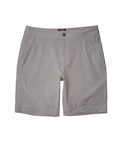 Faherty All Day Shorts (Ice Grey) Men