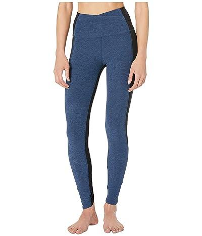 Beyond Yoga Spacedye Home Run High-Waisted Midi Leggings (Insignia Navy) Women