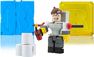 Roblox Action Collection - Mr. Toilet Figure Pack + Two Mystery Figure Bundle [Includes 3 Exclusive Virtual Items]