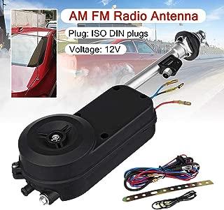 1 Set 12V Universal Electric Power Automatic Antenna Car SUV AM FM Radio Mast Aerial