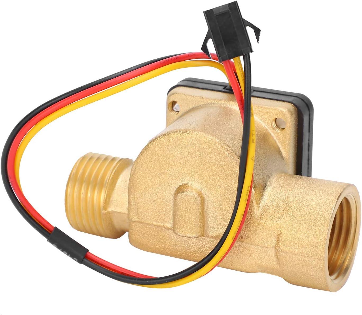 T osuny G1 2in Female Male Finally resale start Brass 0.3-1 25% OFF Water Flow Switch Sensor