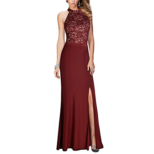 Long Burgundy Dresses Amazoncom