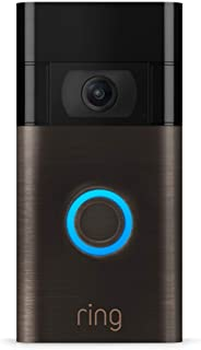 Ring Video Doorbell – newest generation, 2020 release – 1080p HD video, improved motion detection, easy installation – Ven...