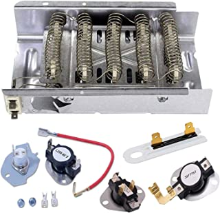 Siwdoy 279838 279816 3387134 3977767 3392519 Dryer Heating Element Kit Compatible with Whirlpool Dryer