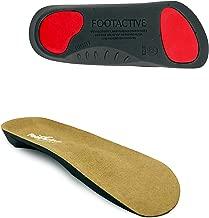 coupe au talon profond FOOTACTIVE Metatarsalgia Premium pour soulagement de la douleur au pied avec soutien de larc biom/écanique soul/èvement m/étatarsien