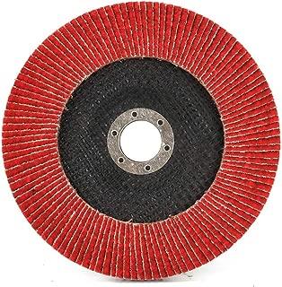 10 pack Metabo 629438000 4.5 x 7//8 Ceramic Flapper Abrasives Flap Discs 60 Grit