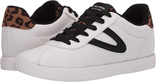 Vintage White/Black/Tan/Black Multi