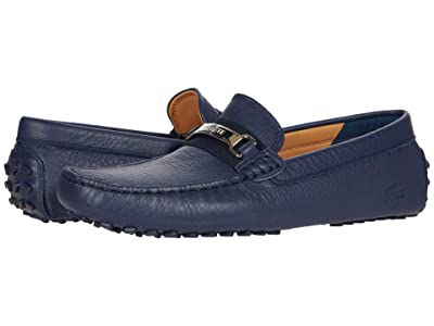 Lacoste Ansted 0320 1 (Navy/Silver) Men