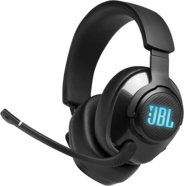 Quantum 400 - Wired Over-Ear Gaming Headphones with USB and Game-Chat Balance Dial - Black