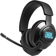 JBL Quantum 400 – Fones de ouvido para jogos circum-auriculares com USB e mostrador de equilíbrio de bate-papo de jogos – ...