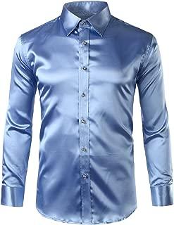 Best light blue silk shirt Reviews
